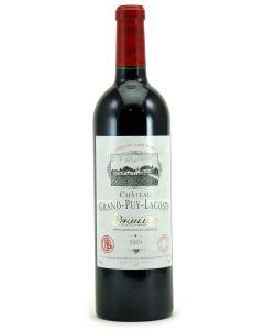 2001 grand puy lacoste Bordeaux Red