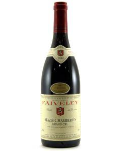 2002 faiveley mazis chambertin Burgundy Red