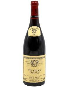 2002 louis jadot musigny Burgundy Red