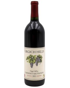 2003 grgich hills cabernet sauvignon California Red