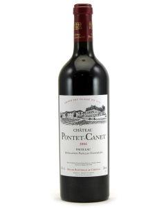 2004 pontet canet Bordeaux Red