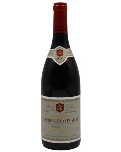 2005 faiveley corton clos des cortons Burgundy Red