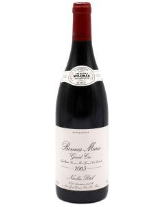 2005 nicolas potel bonnes mares Burgundy Red