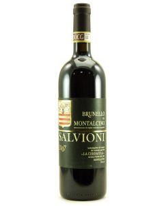 2007 salvioni brunello di montalcino Brunello