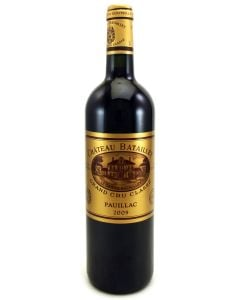 2009 batailley Bordeaux Red