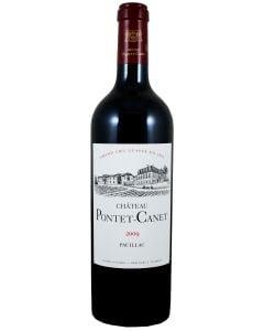 2009 pontet canet Bordeaux Red