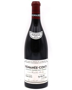 2010 drc romanee conti Burgundy Red