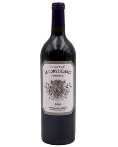 2010 la conseillante Bordeaux Red