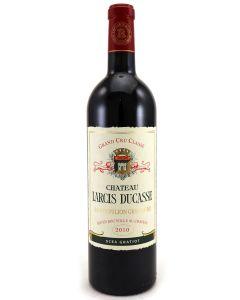 2010 larcis ducasse Bordeaux Red