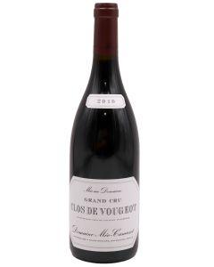2010 meo camuzet clos vougeot Burgundy Red