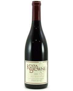 2012 kosta browne pinot noir garys' vyd California Red
