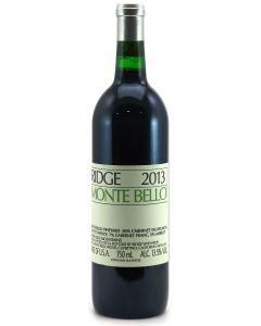 2013 Ridge Monte Bello Cabernet Sauvignon