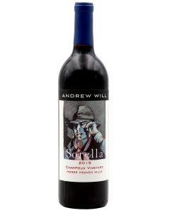 2015 andrew will sorella champoux vineyard Washington Red