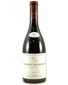 2015 domaine tortochot charmes chambertin Burgundy Red