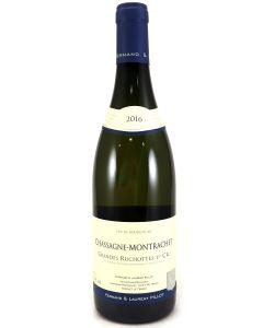 2016 domaine fernand et laurent pillot chassagne montrachet 1er cru grandes ruchottes Burgundy White