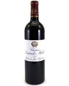 2016 sociando mallet Bordeaux Red