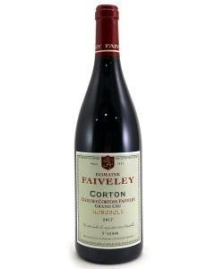 2017 faiveley corton clos des cortons Burgundy Red