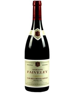 2018 faiveley corton clos des cortons Burgundy Red