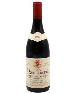 2019 alain hudelot noellat vosne romanee les beaumonts Burgundy Red