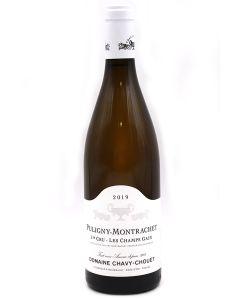 2019 domaine chavy chouet puligny montrachet 1er cru champs gain Burgundy White
