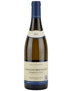 2019 domaine fernand et laurent pillot chassagne montrachet 1er cru morgeot blanc Burgundy White