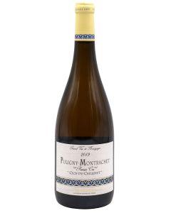 2019 domaine jean chartron puligny montrachet premier cru clos du cailleret monopole Burgundy White