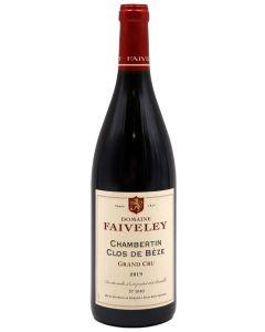 2019 faiveley chambertin clos de beze Burgundy Red