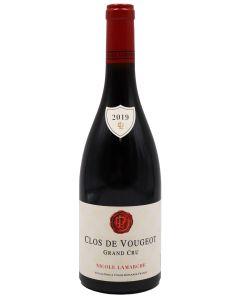 2019 lamarche clos vougeot Burgundy Red