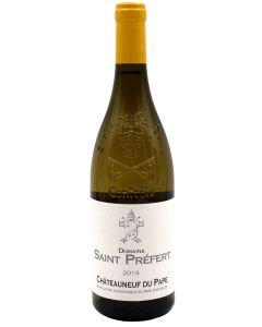 2019 saint prefert chateauneuf du pape blanc Chateauneuf du Pape