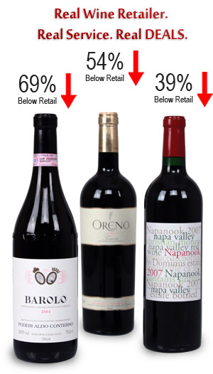 Wines of the Highest Pedigree - Deeply Discounted