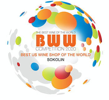 Sokolin Voted Best US Wine Shop in the World 2020