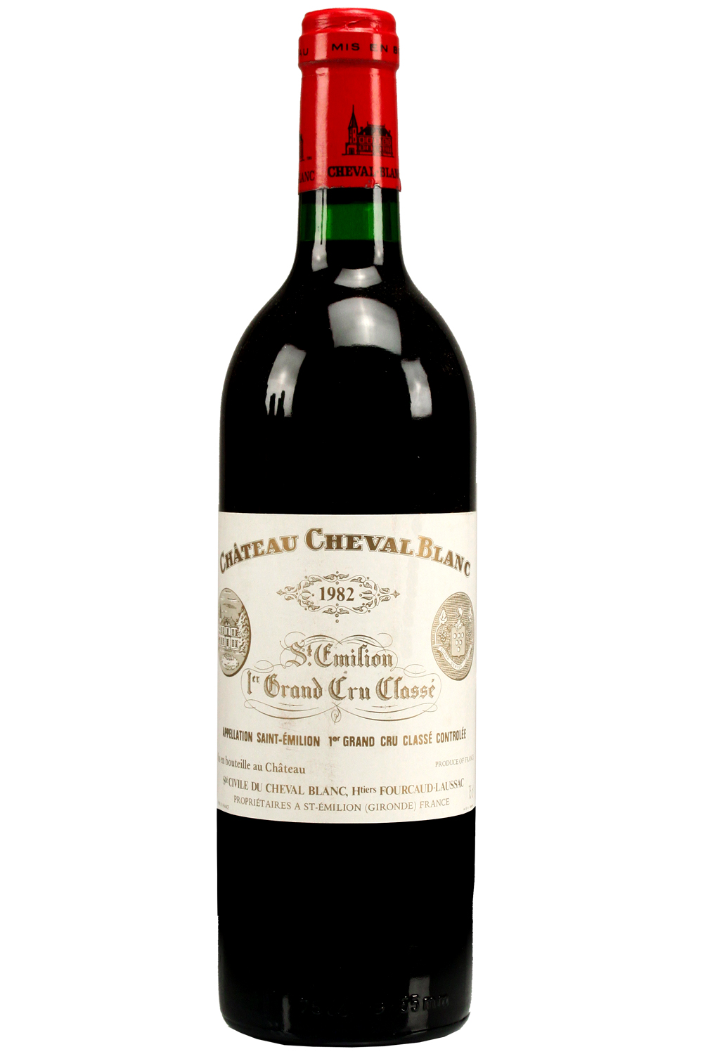 1982 Cheval Blanc Bordeaux Red 750 ml