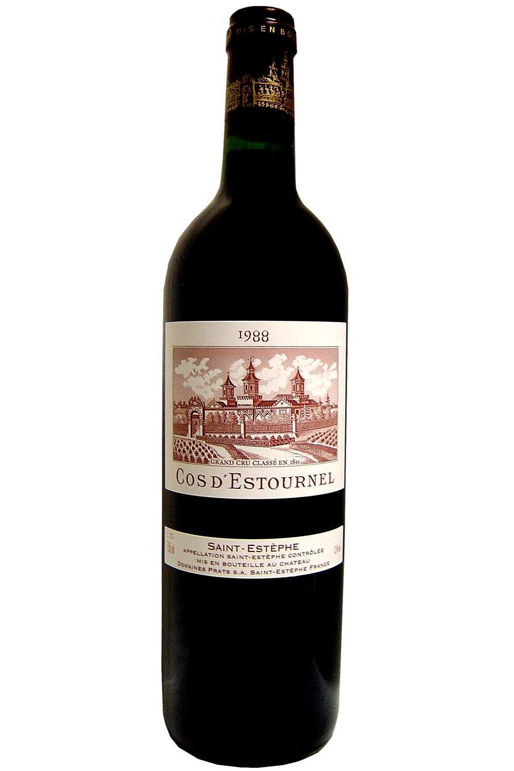 1988 Cos D'Estournel Bordeaux Red 750 ml