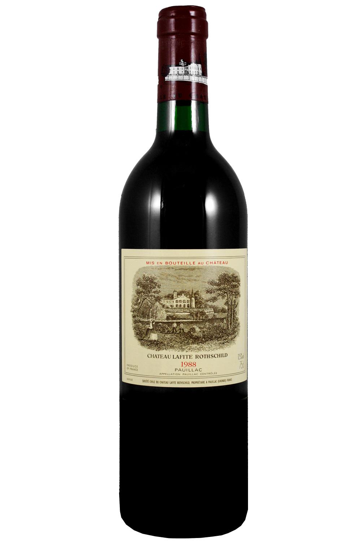 1988 Lafite Rothschild Bordeaux Red 750 ml