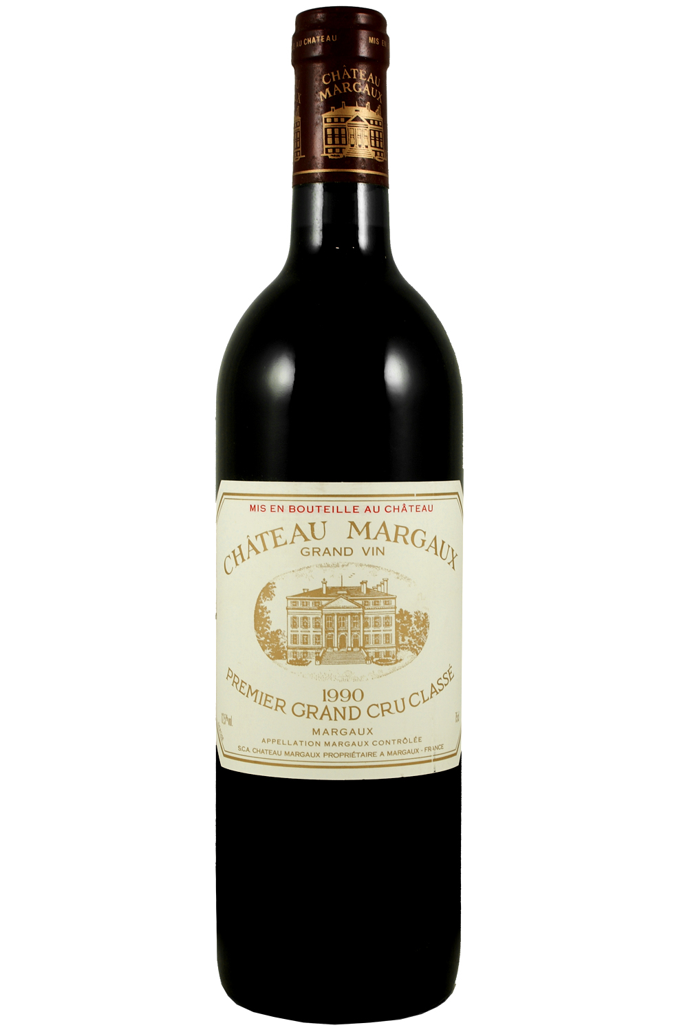 1990 Margaux Bordeaux Red 750 ml