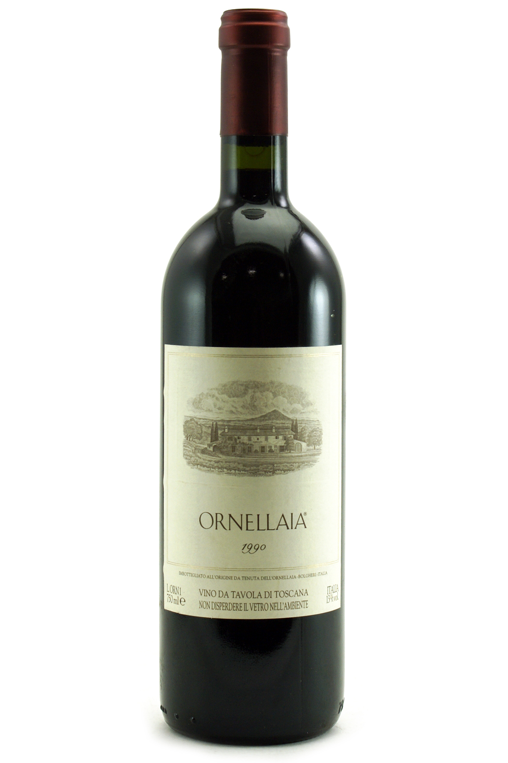 1990 Ornellaia Super Tuscans/IGT 750 ml