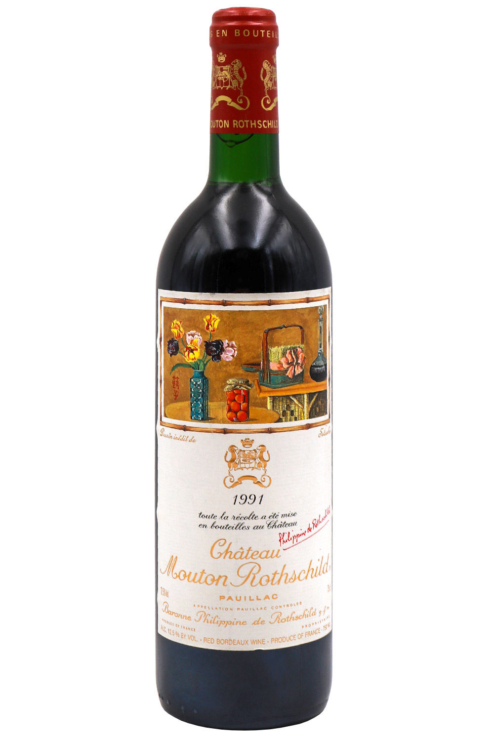 1991 Mouton Rothschild Bordeaux Red 750 ml