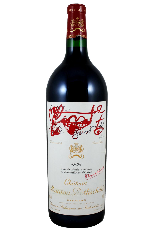 1995 Mouton Rothschild Bordeaux Red 1.5L