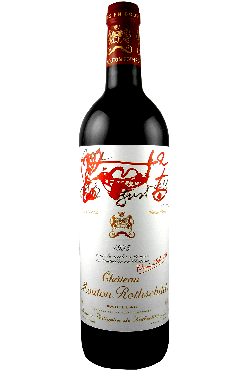 1995 Mouton Rothschild Bordeaux Red 750 ml