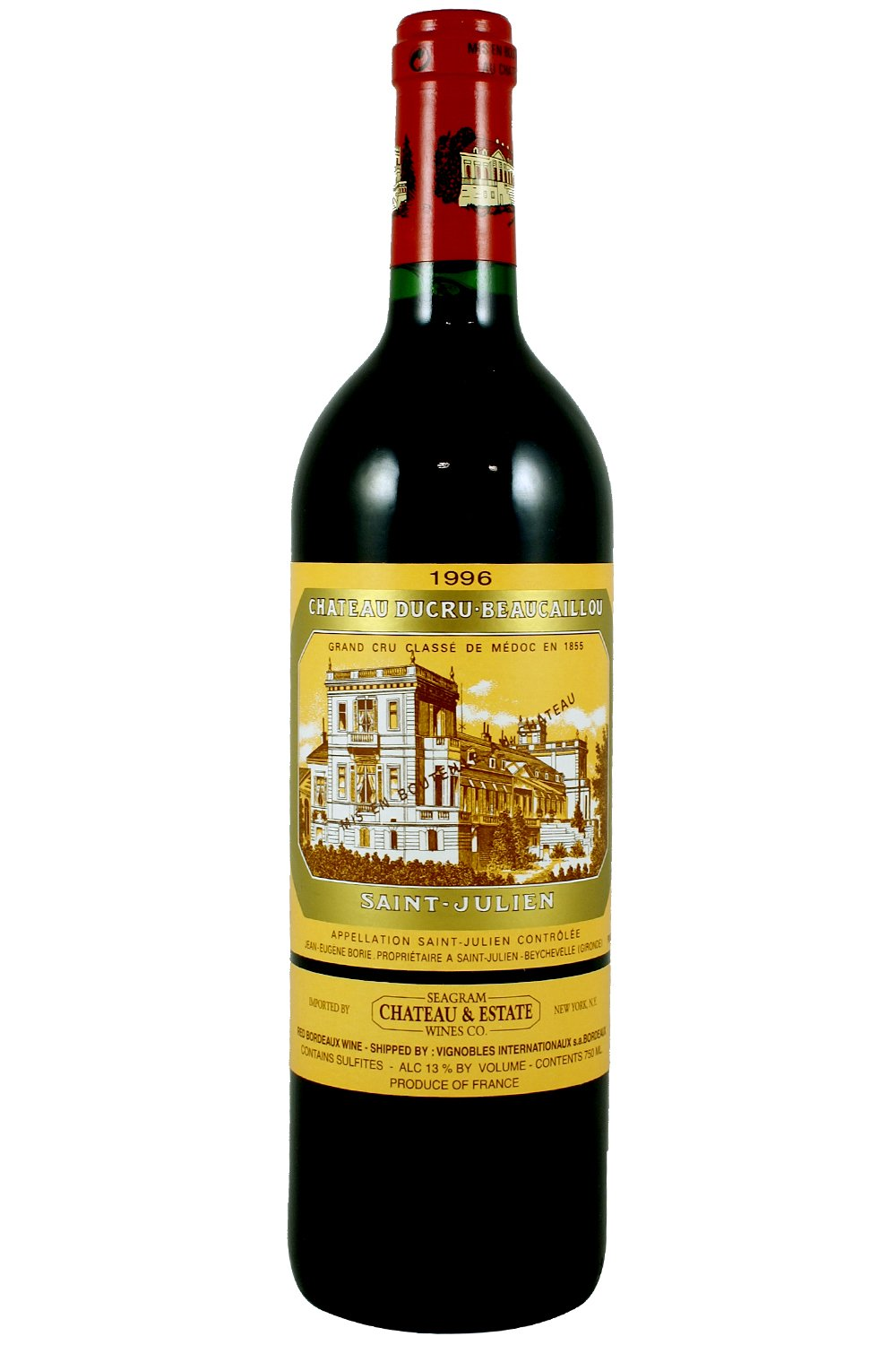 1996 Ducru Beaucaillou Bordeaux Red 750 ml
