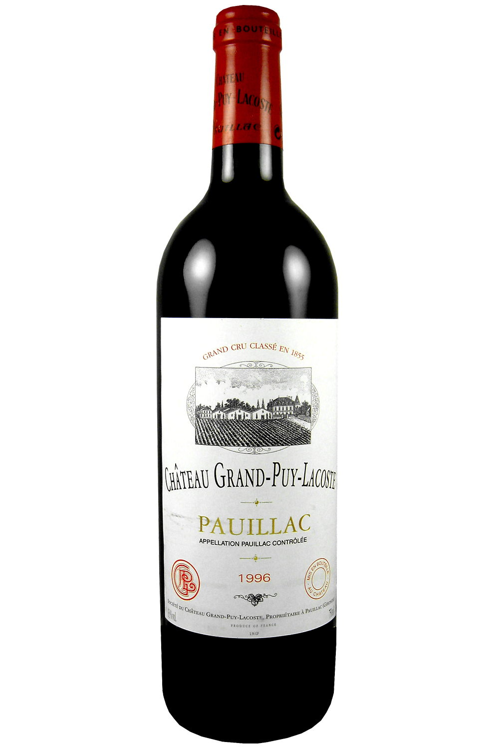 1996 Grand Puy Lacoste Bordeaux Red 750 ml