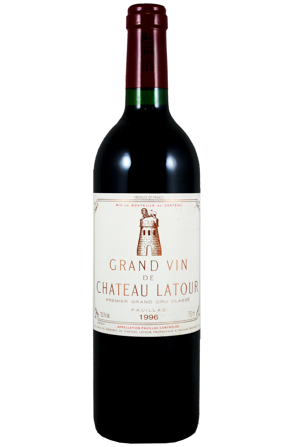 1996 Latour Bordeaux Red 750 ml