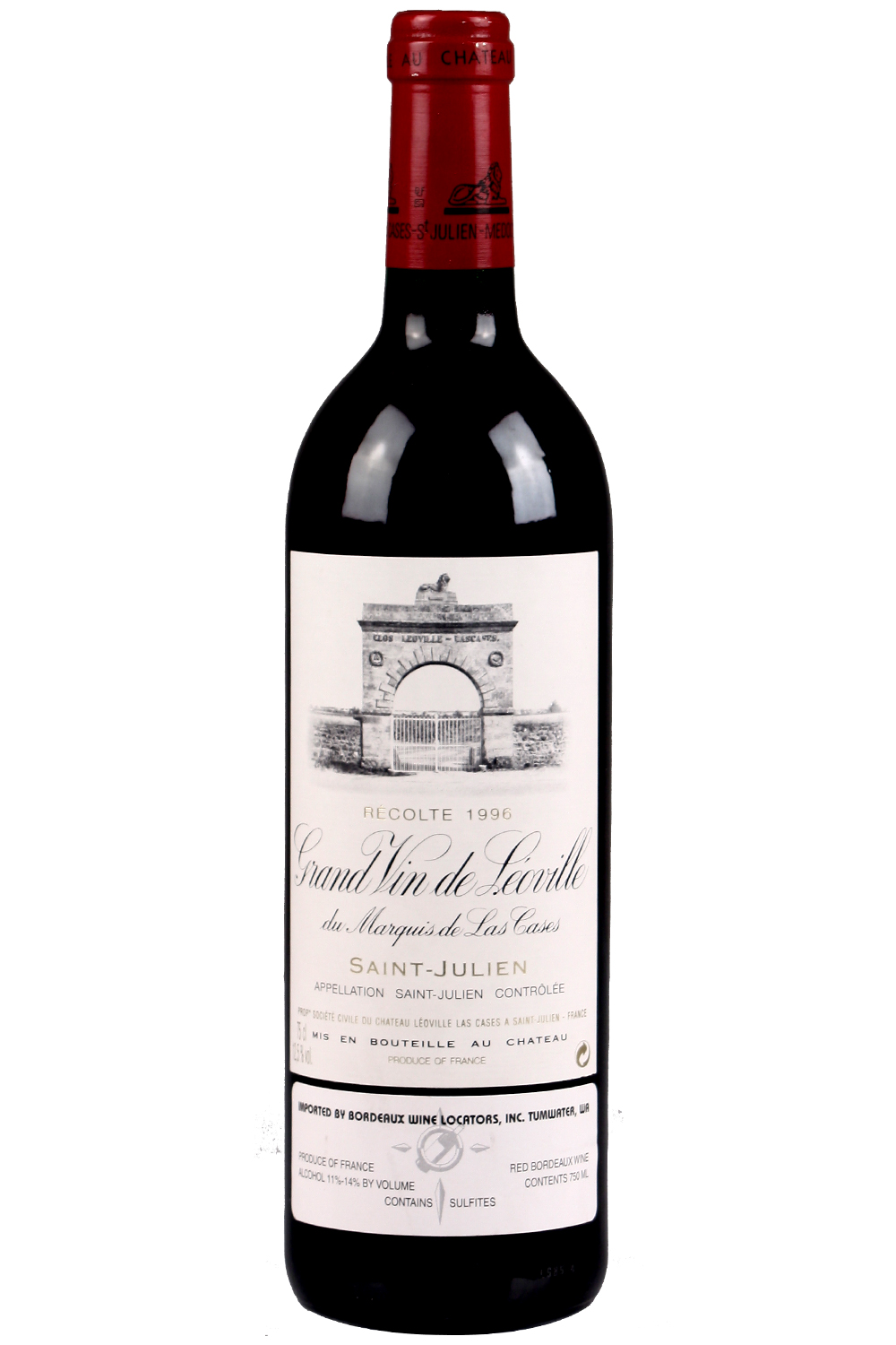 1996 Leoville Las Cases Bordeaux Red 750 ml