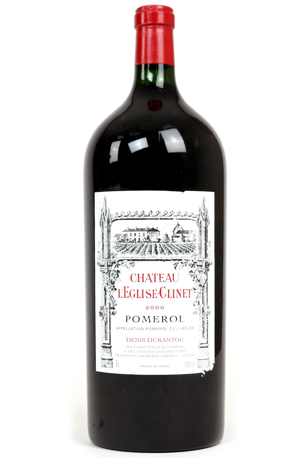 2000 L'eglise Clinet Bordeaux Red 6L