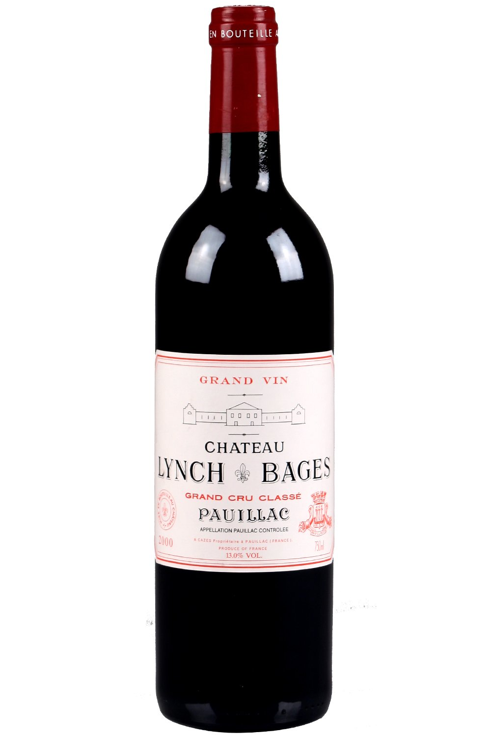 2000 Lynch Bages Bordeaux Red 750 ml