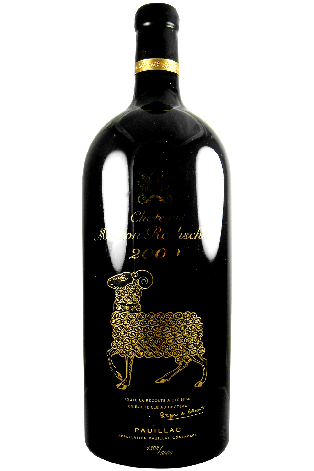 2000 Mouton Rothschild Bordeaux Red 5L