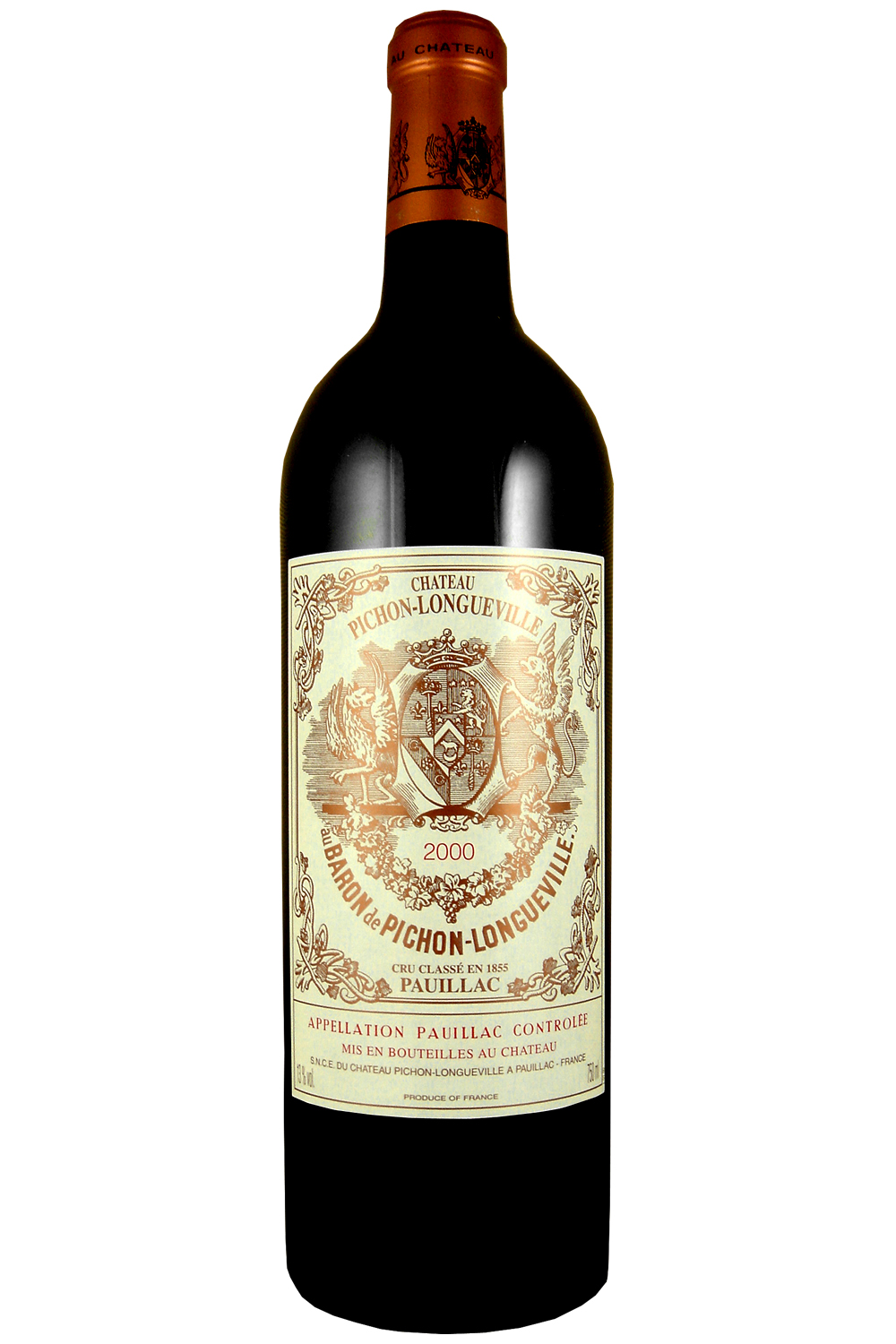 2000 Pichon Baron Bordeaux Red 750 ml