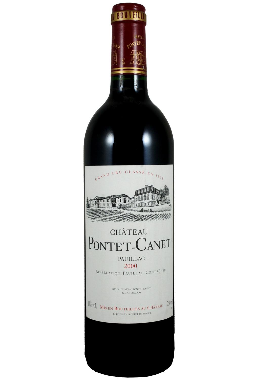 2000 Pontet Canet Bordeaux Red 750 ml