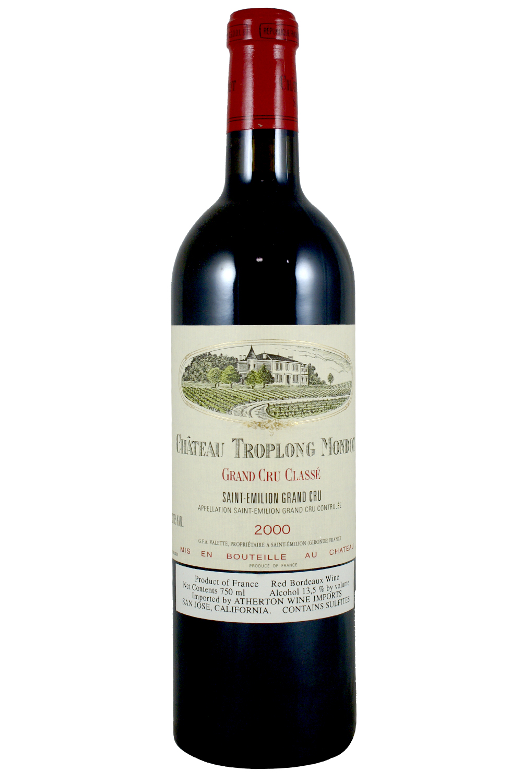 2000 Troplong Mondot Bordeaux Red 750 ml