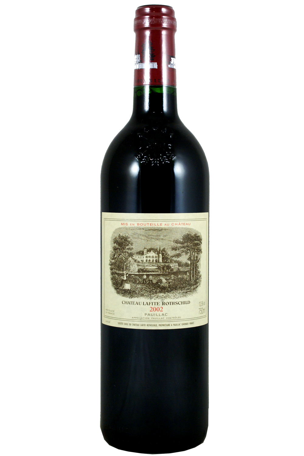2002 Lafite Rothschild Bordeaux Red 750 ml